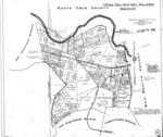 Book No. 267; T12S, R02 & 03E; MDM; Vega del Rio del Pajaro Rancho Map – 1934-1936