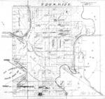 Book No. 420; Township 20S, Range 12E, Assessor Township Plat – 1940-1943