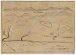 Santa Rosa (Estrada) - Diseños, GLO No. 323, San Luis Obispo County, and associated historical documents