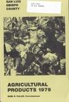 1979, San Luis Obispo Crop Report.