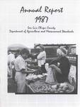 1987, San Luis Obispo Crop Report.