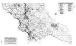 1996 San Luis Obispo County Map - Township and Range