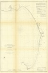 1857 - Preliminary Chart of Monterey Bay, California.