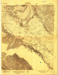 1910 U.S. Geological Survey of the Salinas Quadrangle, Monterey County, California