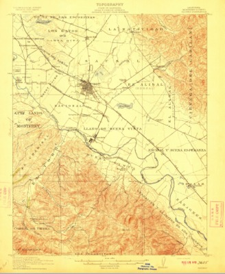 Groundwater Basin Maps Salinas River and Carmel River Groundwater