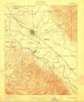 1912 U.S. Geological Survey of the Salinas Quadrangle, Monterey County, California