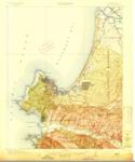 1913 U.S. Geological Survey of the Monterey Quadrangles, Monterey County, California