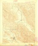 1897 - San Luis Obispo Quadrangle Topographical Map, SLO County - USGS