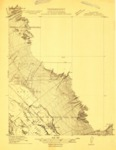 1910 - Gonzales Quadrangle Topographical Survey, Monterey County - USGS