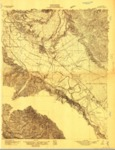 1910 - Salinas Quadrangle Topographical Map, Monterey Co. - USGS
