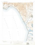 1912 - Capitola Quadrangle Topographical Survey, Monterey and Santa Cruz Counties - USGS