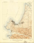 1913 - Monterey Quadrangle Topographical Survey, Monterey, CA - USGS