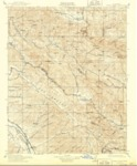 1915 - Priest Valley Quadrangle Topographical Survey, Monterey and San Benito Counties - USGS