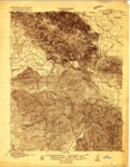 1915 - San Juan Bautista Quadrangle Topographical Survey, Santa Cruz, Monterey and San Bonita Counties - USGS