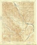 1919 - Bradley Quadrant Topographical Survey, Monterey and San Luis Obispo Counties - USGS