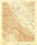 1919 - King City Quadrangle Topographical Survey, Monterey County - USGS