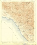 1919 - San Simeon Quadrangle Topographical Survey, San Luis Obispo County - USGS