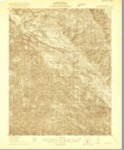 1920 - Jamesburg Quadrangle Topographical Survey, Monterey County - USGS