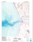 1954 - Moss Landing Quadrangle Topographical Survey, Monterey County - USGS