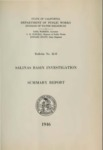 1946 Salinas Basin Investigation Summary Report, Bulletin No. 52-B