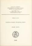 1949 Salinas Basin Investigation, Basic Data Used in Bulletins 52, 52-A and 52-B
