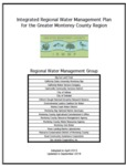 2018 - Integrated Regional Water Management Plan of the Greater Monterey County Region - Updated