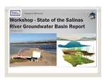 2015 - Basin Study Workshop - State of the Salinas River Groundwater Basin Report