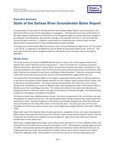 2014 - State of the Salinas River Groundwater Basin Report, Executive Summary
