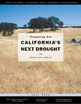 2000 - Preparing for California's Next Drought -- Changes Since1987-92