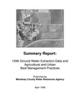 1996 Monterey County Water Resources Agency Groundwater Extraction Summary Report