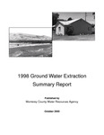 1998 Monterey County Water Resources Agency Groundwater Extraction Summary Report