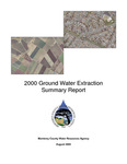 2000 Monterey County Water Resources Agency Groundwater Extraction Summary Report