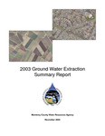 2003 Monterey County Water Resources Agency Groundwater Extraction Summary Report