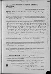 001583, US Land Patent, T14S, R2E, Richard Windsor, on Nov. 10, 1868, and BLM Land Patent Detail Sheet