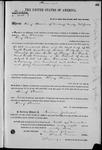 001585, US Land Patent, T14S, R2E, Henry Beaver, Nov. 10, 1868, and BLM Land Patent Detail Sheet