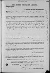 001605, US Land Patent, T14S, R2E, John Fabry, Nov. 10, 1868, and BLM Land Patent Detail Sheet