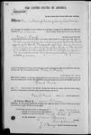 001717, US Land Patent, T14S, R2E, Green L. Prewit, Nov. 10, 1868, and BLM Land Patent Detail Sheet