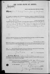 001719, US Land Patent, T14S, R2E, John H. Lisk, Nov. 10, 1868, and BLM Land Patent Detail Sheet