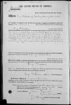 001721, US Land Patent, T14S, R2E, George W. Conden, Nov. 10, 1868, and BLM Land Patent Detail Sheet