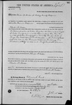 002822, US Land Patent, T14S, R2E, Charles McFadden, Oct. 5, 1871, and BLM Land Patent Detail Sheet