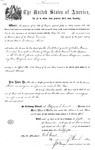 001111, US Land Patent, T23S, R10E, Guillaume Abadie, Nov. 5, 1870, and BLM Land Patent Detail Sheet