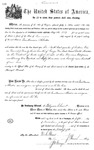001113, US Land Patent, T23S, R10E, Guillaume Abadie, Nov. 5, 1870, and BLM Land Patent Detail Sheet