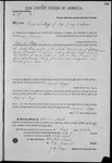 000174, US Land Patent, T24S, R11E, Angus S. Boggs, Oct. 1, 1862, and BLM Land Patent Detail Sheet