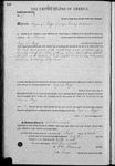 000175, US Land Patent, T24S, R11E, Angus S. Boggs, Oct. 1, 1862, and BLM Land Patent Detail Sheet