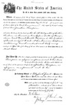 001114, US Land Patent, T24S, R11E, Jonathan Thompson, Nov. 1, 1870, and BLM Land Patent Detail Sheet