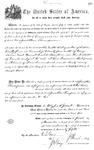 001115, US Land Patent, T24S, R11E, Jonathan Thompson, Nov. 1, 1870, and BLM Land Patent Detail Sheet
