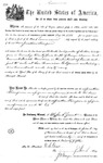 001116, US Land Patent, T24S, R11E, Jonathan Thompson, Nov. 1, 1870, and BLM Land Patent Detail Sheet