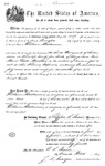 001189, US Land Patent, T24S, R11E, William Mathewson, June 1, 1870, and BLM Land Patent Detail Sheet