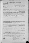 001275, US Land Patent, T24S, R11E, Jonathan Thompson, Jan. 10, 1868, and BLM Land Patent Detail Sheet