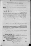 001277, US Land Patent, T24S, R11E, Jonathan Thompson, Jan. 10, 1868, and BLM Land Patent Detail Sheet